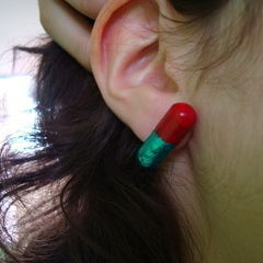 Red And Blue Pills Earrings