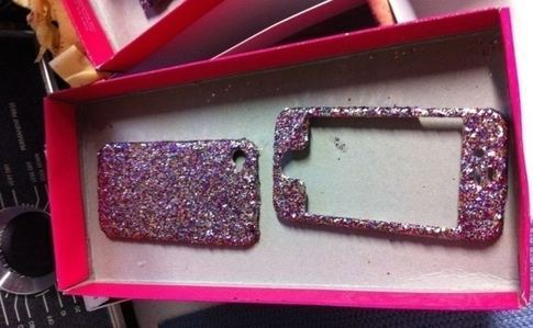 Super Glittery Cell Phone Case