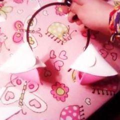 how to make teddy bear ear headband