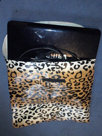 Leopard Patterned Laptop Case