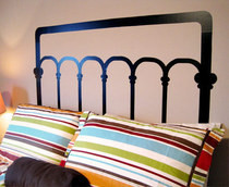 Faux Headboard
