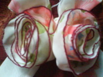 Sweet Rosie Fabric Flower