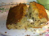 Banana Cake With Choc Chips