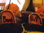 Krafty Halloween Cupcakes
