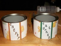 Kitty Treat Cans