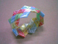 Woven Straw/Paper Bracelet 