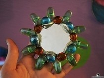 Pop Tab Baubles Mirror Recycle