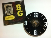 12 Inch Lp Record Clock (: