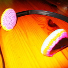 Funky Crochet Headphone Covers