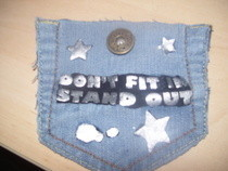 Cool Jean Pocket Cellphone Holder!!!!!!&lt;3 It