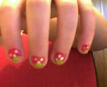 Strawberry Nails!!
