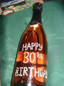 Special Birthday Bottle