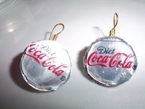 Soda Can Earring