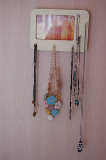 Quirky Photo Frame Necklace Hanger