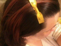 Measuring Tape Hair Bow