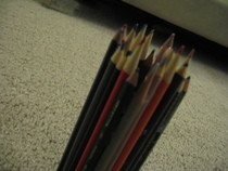 Pencil Cup Made Of Colored Pencils :D
