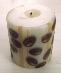Easy Decorative Tissue Candle