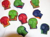 Skull Crayons