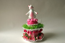 Fake Cake Bunny Tower