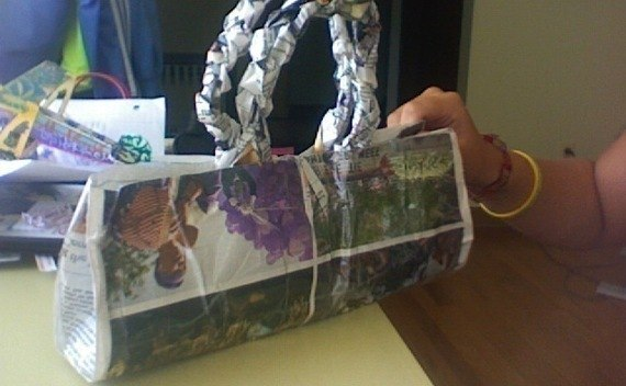 Newspaper Handbag