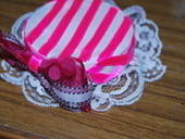 Lolita Candy Striped Mini Hat