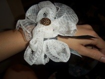 Home Made Bracelet Corsage