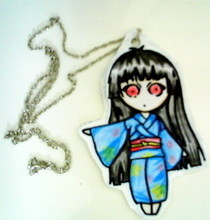 Enma Ai Chibi Necklace