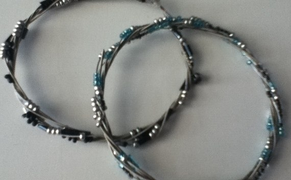 Rockish Bracelet From Guitar Strings