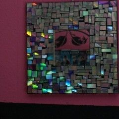 Mosaic Cd Mirror