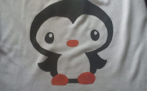 Cute Penguin T Shirt