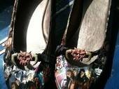 Dethklok Comic Shoes