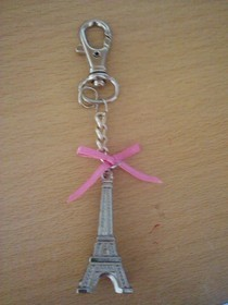 Paris Key Ring
