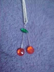 Cute Cherry Neclace
