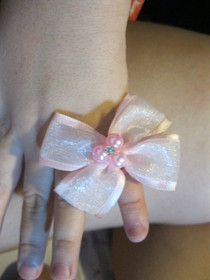 Kid's Bow Ring :D