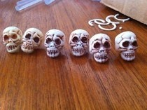 Crappy Halloween Rings To Fantastic Beads