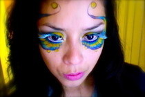 Carnival Inspired Makeup Tutorial!
