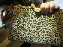 Dvd Case To Leopard Clutch