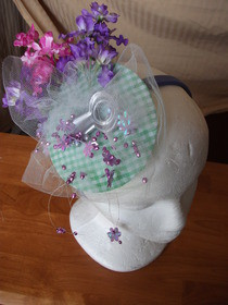 Spring Tea Party Headpiece