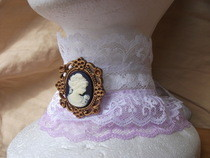 Victorian Lace Choker