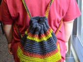 Crochet Yarn Backpack