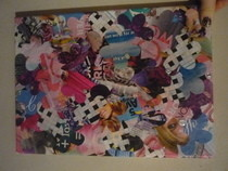 Flower Collage On Canvas! :D
