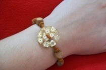 Single Button Bracelet
