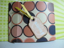 Matchbook Style Scrapbook Album