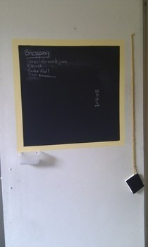 Wall Or Door Blackboard