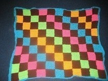 Checkerboard Crochet Blankie