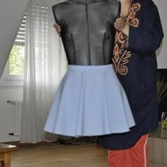 Mini Circle Skirt