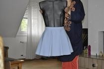 Mini Circle Skirt