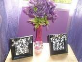 Decorating Photo Frames And Vases With Buttons