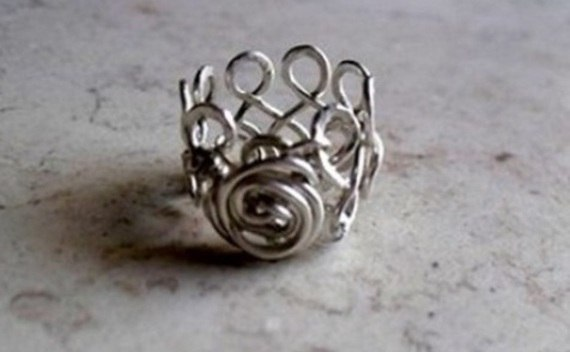 Loop De Loop Ring Wire Jewelry