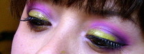Flashy Neon & Glitter Eyeshadow Tutorial